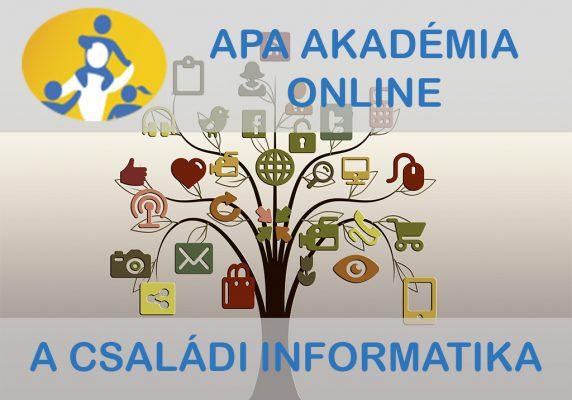 Családi informatika – online kurzus szülőknek