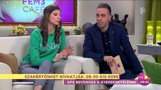 Apa Akadémia a TV2 FEM3 CAFE-ban